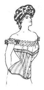 1890s-1905 Edwardian Gibson Girl Era Clothing Links