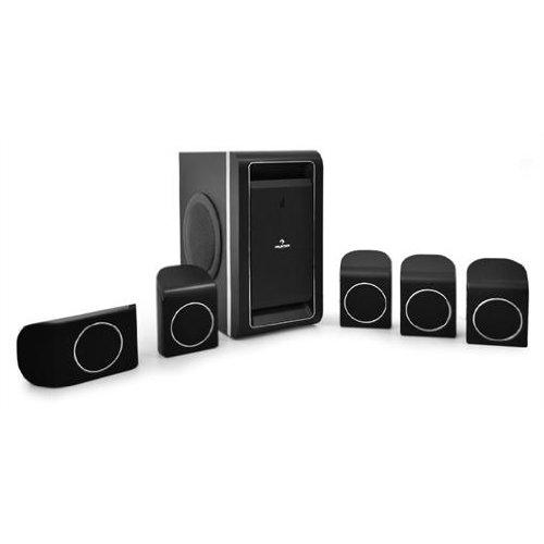 Auna 5.1-Surround-Lautsprecher Surround System (UKW-Radio, Fernbedienung, Stereo-Modus) max. 800 Watt