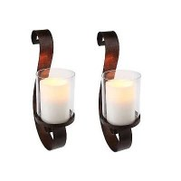 Amazon.com: Set of 2 Home Reflection S Shaped Scroll Wall ...