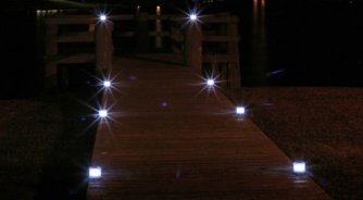 Solar Dock Lights - attractive and safe