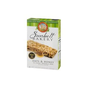 Sunbelt Bakery Oats amp Honey Chewy Granola Bars 10 Ct 3 Pack
