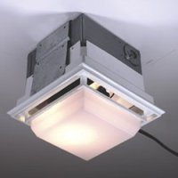Nutone Ceiling/Wall Ductless Exhaust Fan/Light, Model ...