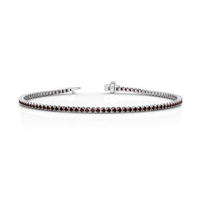 Red-Garnet-Tennis-Bracelet-165ct-tw-in-14K-Gold