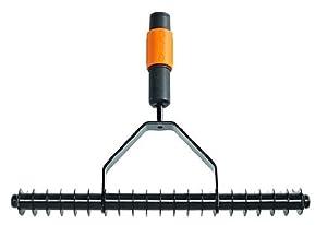 Fiskars 135513 QuikFit Single-Edge Aerator Rake: Amazon.co
