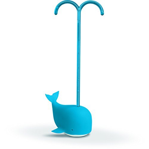 Fred and Friends Brew Whale Tea Infuser, Blue