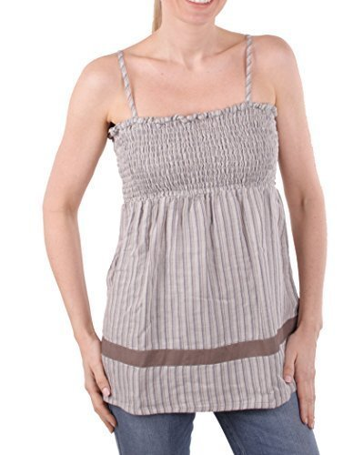 Timberland Damen Shirt Top Assorted Striped Pleated