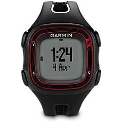 Garmin Forerunner 10 GPS Watch - Black/Red (Certified Refurbished)