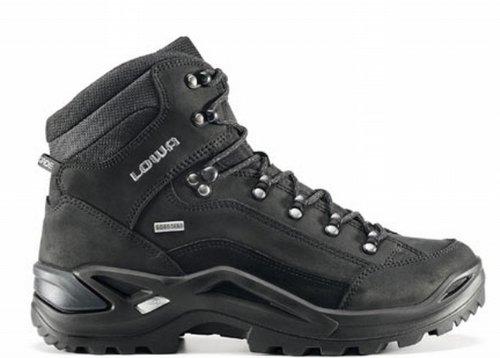 Original Lowa Renegade GTX Mid All Terrain Trekking Schuh Herren schwarz, Größe:51