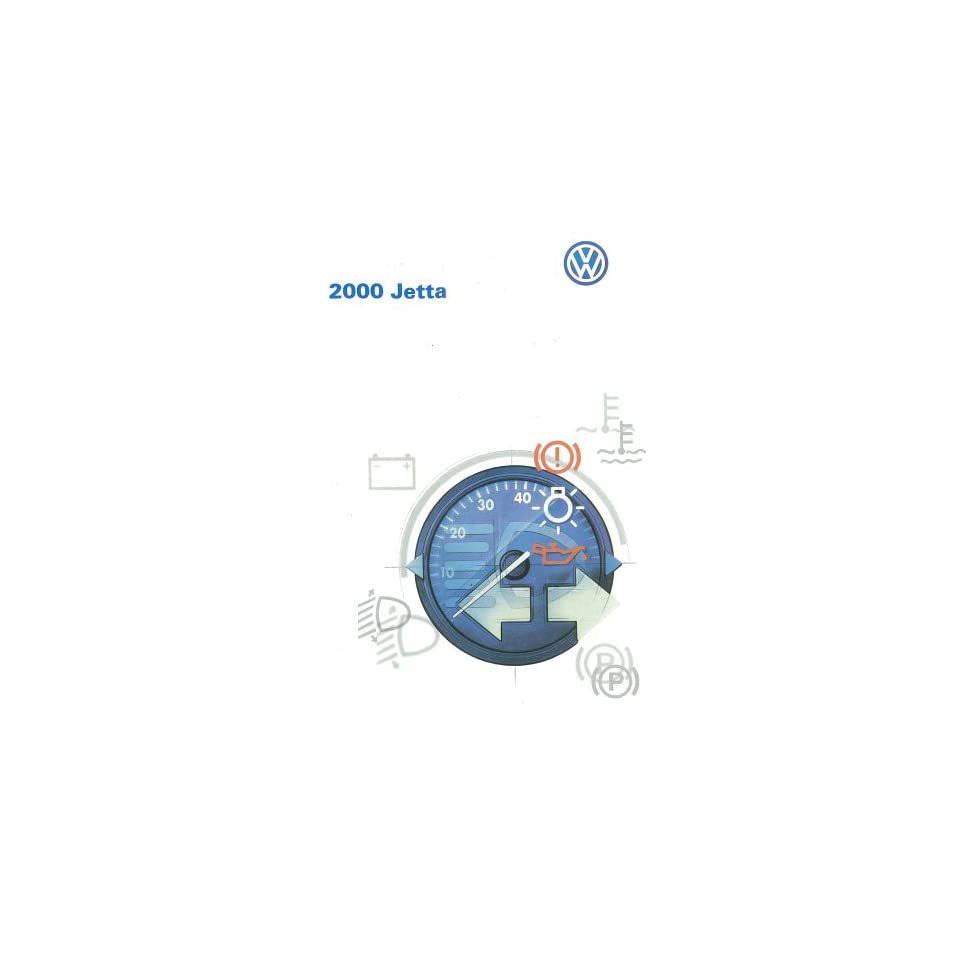 2000 Volkswagen Jetta Owners Manual User Guide Reference