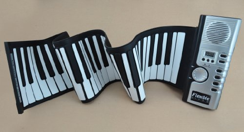 Promotional Thick Padded 61 Keys To-go Roll up Piano Keyboard