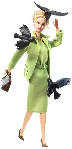 Barbie Collector 2008 Black Label - Pop Culture Collection - Alfred Hitchcock's THE BIRDS Barbie Doll, Tippi Hedren