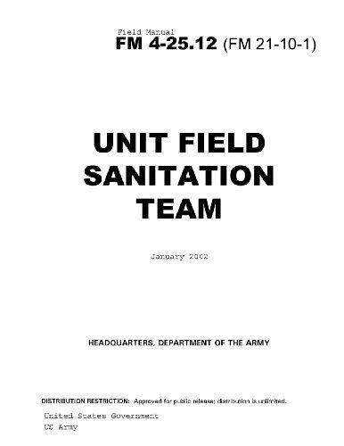 Field Manual Fm 4-25.12 (Fm 21-10-1) Unit Field Sanitation