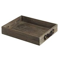 "Amazon.com - 17.75"" Country Rustic Antique-Style Wooden ..."