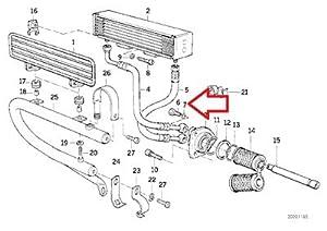 Amazon.com: BMW Genuine Lubrication System Oil Cooler