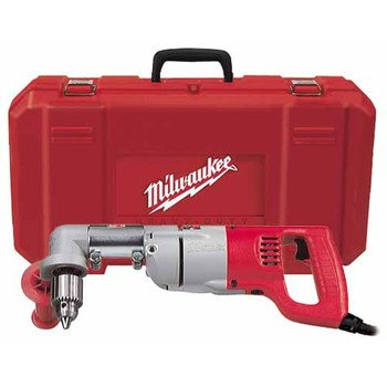 Factory-Reconditioned Milwaukee 3107-8 7.0 Amp 1/2-Inch D-Handle Right Angle Drill