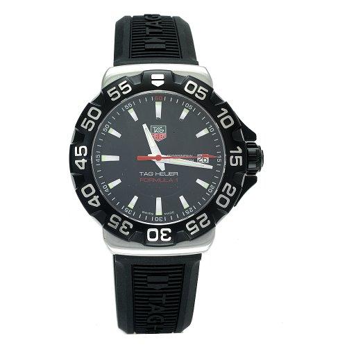 TAG Heuer Men's WAH1110.BT0714 Formula 1 Rubber Strap Watch