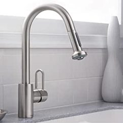 Hansgrohe Metro E High Arc Kitchen Faucet Island With Wine Rack 2 Function ...
