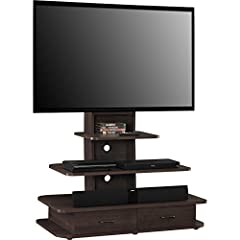 Altra Furniture 1762196PCOM Galaxy TV Stand with Mount and Drawers, 70