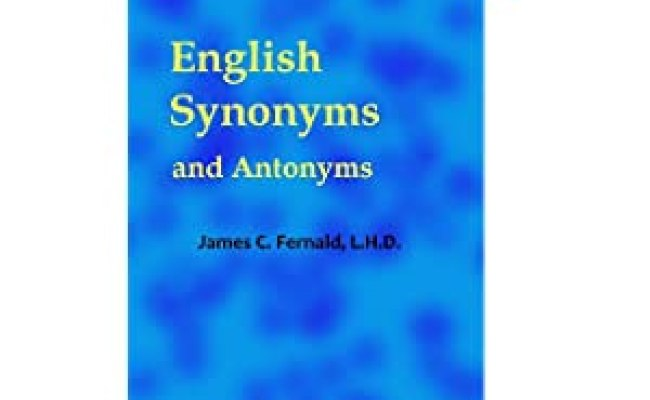 English Synonyms And Antonyms Dictionary Thesaurus