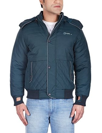 Fort Collins Men's Nylon Jacket (38263_Large_Green)