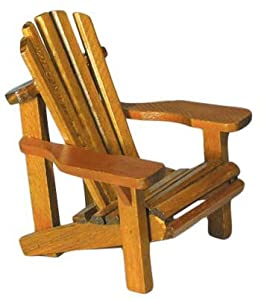 miniature adirondack chairs ergonomic chair without back amazon.com: wood small with natural weathered look 4