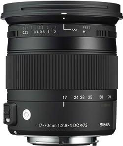 SIGMA 交換レンズ 17-70mm F2.8-4 DC MACRO OS HSM ニコン用 17-70mmF2.8-4DCMACROOSHSM