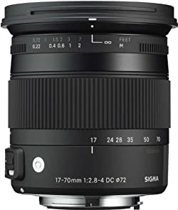 SIGMA 交換レンズ 17-70mm F2.8-4 DC MACRO OS HSM ニコン用 17-70mmF2.8-4DCMACROOSHSM