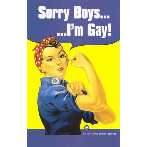 Sorry boys, I'm gay