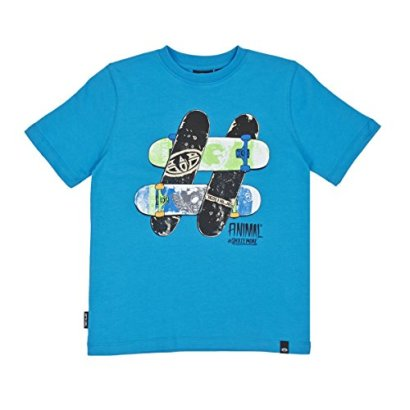 Animal-Skatemore-T-Shirt-Oceanic-Blue