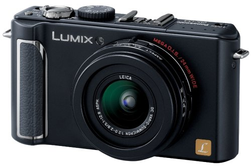 Panasonic デジタルカメラ LUMIX (ルミックス) LX3 ブラック DMC-LX3-K