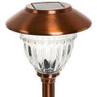 Energizer Stainless Steel LED Solar Path Lights (Copper ...