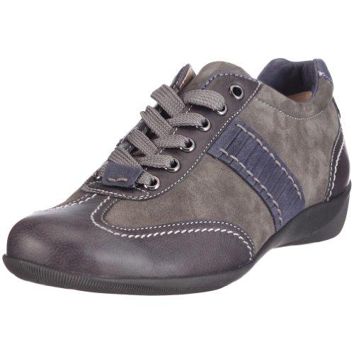 Hassia 0-301672-6335 Roma, Weite H, Damen Sneaker, Grau (graphit/darkblue 6335), EU 38.5, (UK 5.5  )