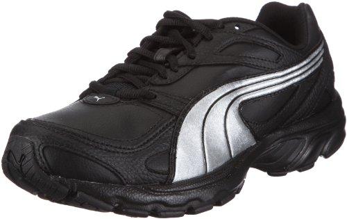 Puma Axis XT 185050, Herren, Sportschuhe - Fitness, Schwarz (black-silver metallic 08), EU 41 (UK 7.5) (US 8.5)