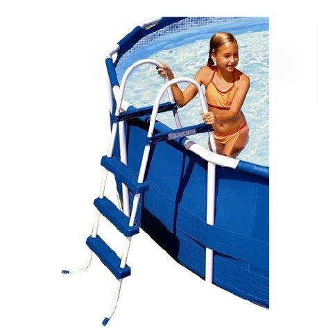 Intex Pool Ladder with Barrier for 42-Inch Wall