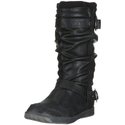 Mustang 3038-603 Damen-Stiefel, Damen Stiefel, Schwarz (schwarz 9), EU 36