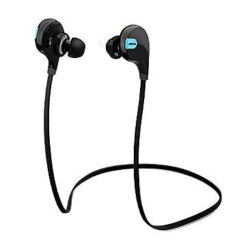Mpow Swift Bluetooth 4.0スポーツヘッドセット ワイヤレスステレオヘッドセット イヤホン iPhone&Android などのスマートフォンに対応(ブラック)