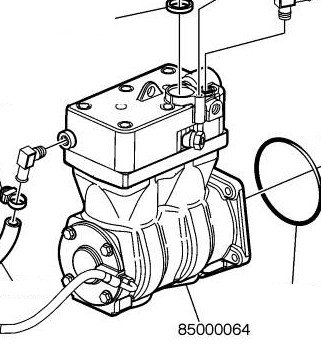 Volvo Air Tank Diagram, Volvo, Free Engine Image For User