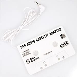 Amazon.com : Car Cassette Adapter For MP3, iPod, XM, CD