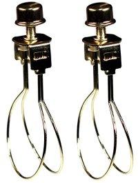 Creative Hobbies 2 Pack -Lamp Shade Light Bulb Clip ...