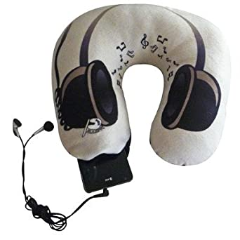 Amazoncom Neck Pillow Pattern Headphones Clothing