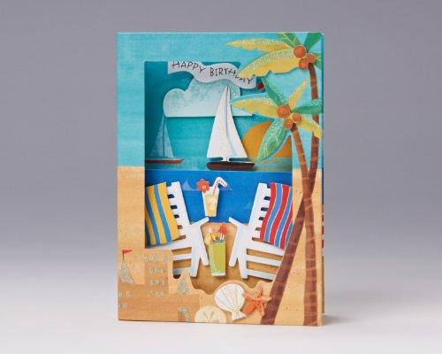 Lifes A Picture Perfect Beach Birthday Card Birthday