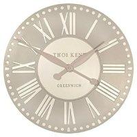 Thomas Kent Parisian Wall Clock - 50cm Truffle 20024 ...