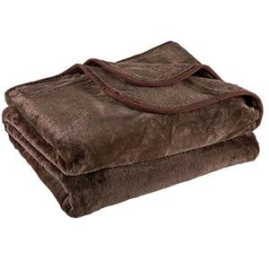 Amazoncom Clara Clark Mink Raschel Blanket Queen