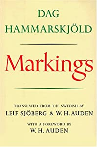 "Cover of ""Markings"""