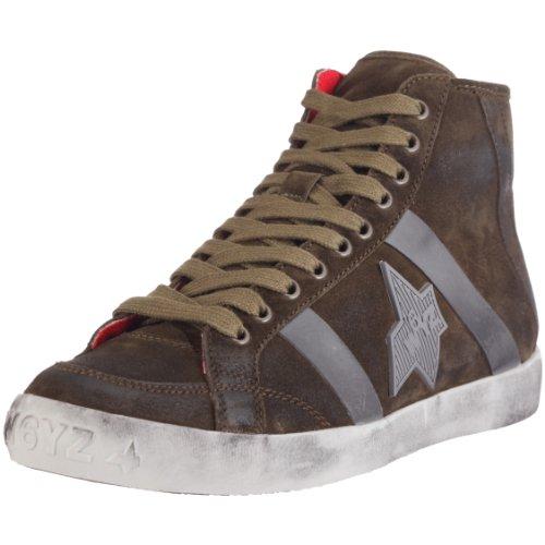 Wyzz 2500423-04 Skater Boot, Herren Sneaker, Grün (VERDE 9133), EU 46