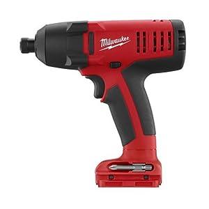 Bare Tool Milwaukee 0881-20 18-Volt V18 1/4-Inch Hex Impact Driver Kit