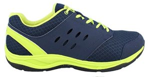 Vionic Contest Mens Mesh Athletic Shoe with Orthotics Navy - 12 Wide