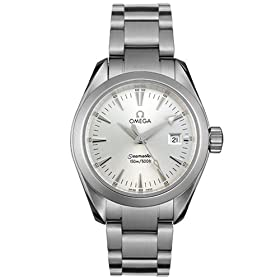 Omega Women's Seamaster Aqua Terra Quartz Watch #2577.30.00