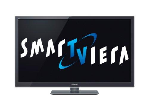 Panasonic TX-L47ETW5 119 cm (47 Zoll) 3D LED-Backlight-Fernseher, Energieeffizienzklasse A+ (Full-HD, 300Hz Backlight Scanning, SmarTViera, WiFi, DVB-S/T/C) Anthrazit-Metallic