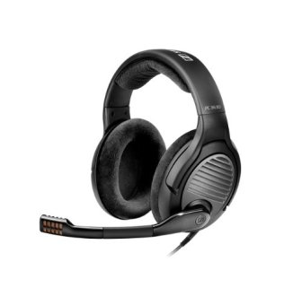 Sennheiser PC 363D - Auriculares de diadema abiertos USB, 7.1 Surround Sound,...